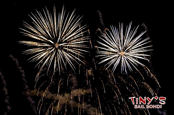 How You Should Handle Fireworks in California | Tinys Bail Bonds