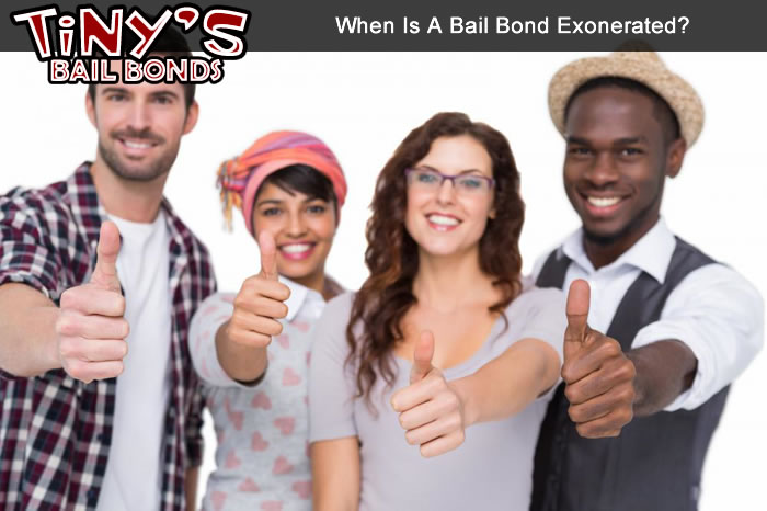 When Is A Bail Bond Exonerated?